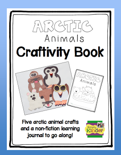 Arctic Animals Craftivity Book