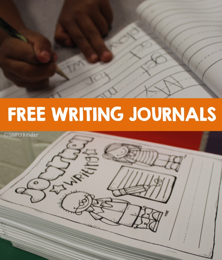 Free writing journals