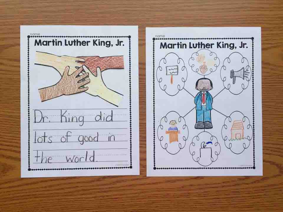 Martin Luther King Writing Craft
