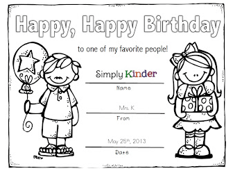 Happy Birthday Coloring Pages | Education.com | 246x336