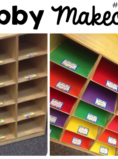Cubby Makeover by Simply Kinder!