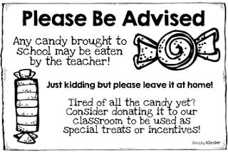 Warning… Teacher Eats Candy!!!
