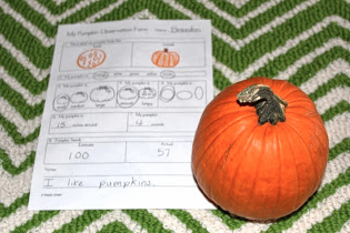Pumpkins Activities for Kindergarten!