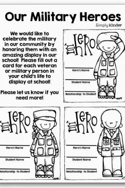 Military Heroes Freebie!