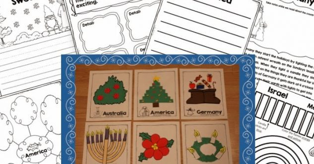 Holidays Around the World for Kinder and First!