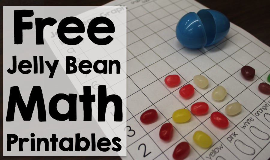 Jelly Bean Math Freebie