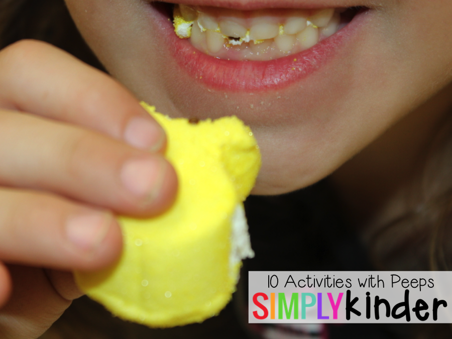 10 Peeps Activities that are easy that your students will LOVE