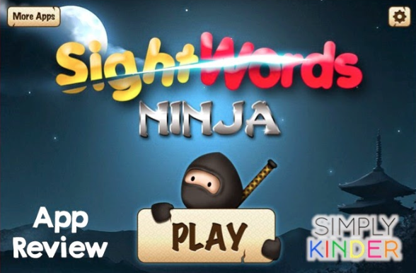 Amazing & Free Sight Word Ninja App