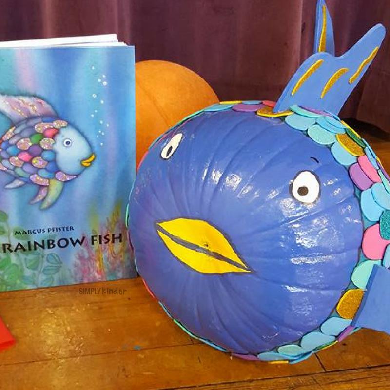 Pumpkin Book Report - Rainbow Fish
