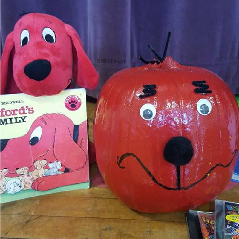 Pumpkin Book Report - Clifford