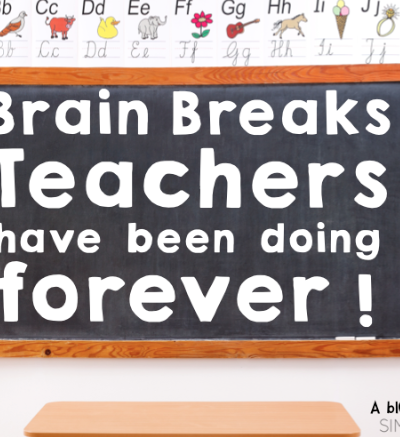 Brain Breaks Old School & Kindergarten Style!