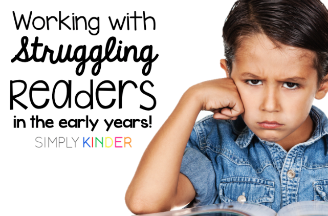 Working with Struggling Readers in the Early Years