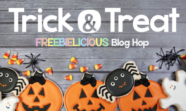 Trick & Treat Blog Hop – No Candy At School