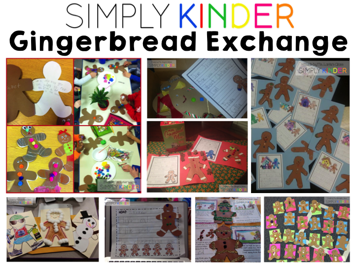 Free Gingerbread Man templates from Simply Kinder.
