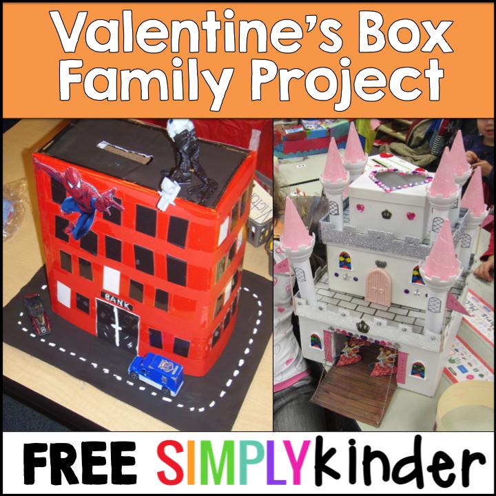 Freebielicious Valentines Day Box Family Project Freebie