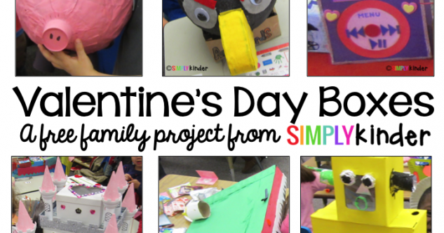 Valentine's Box Family Project!