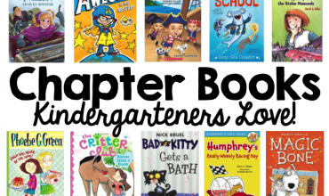 Chapter Books, Simply Kinder, Kindergarten