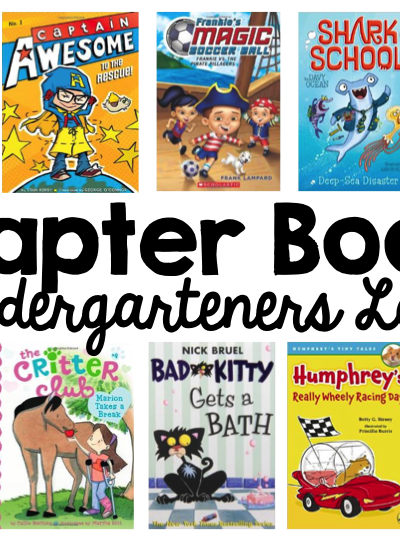 Chapter Books for Kindergarten