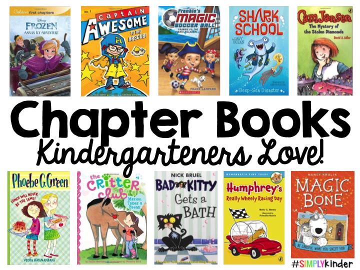 Chapter Books For Kindergarten on Great 5th Grade Science Projects