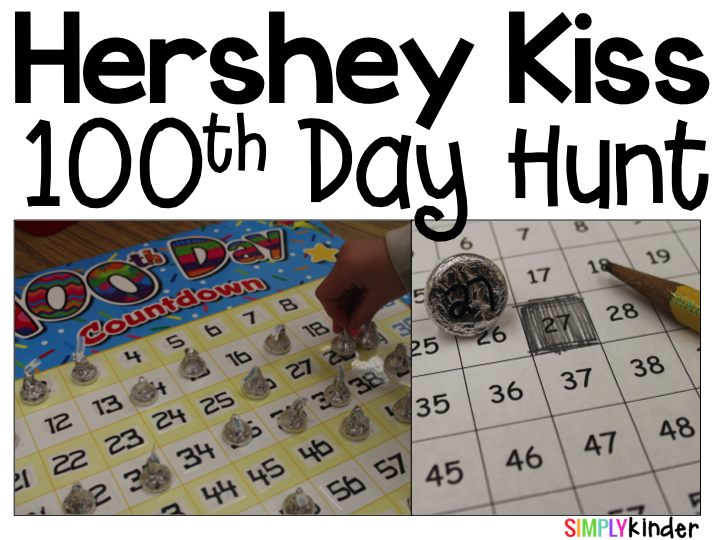 100th Day Hershey Kiss Hunt