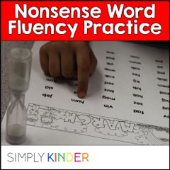 Nonsense Word Fluency, DIBELS, Kindergarten assessment
