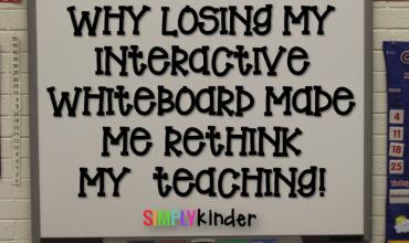 Interactive white board, smart board, technology, kindergarten