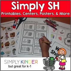 sh Digraph Simply Kinder Kindergarten Blog