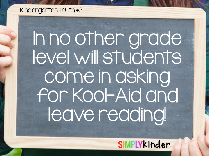 The Truth About Teaching Kindergarten - Simply Kinder
