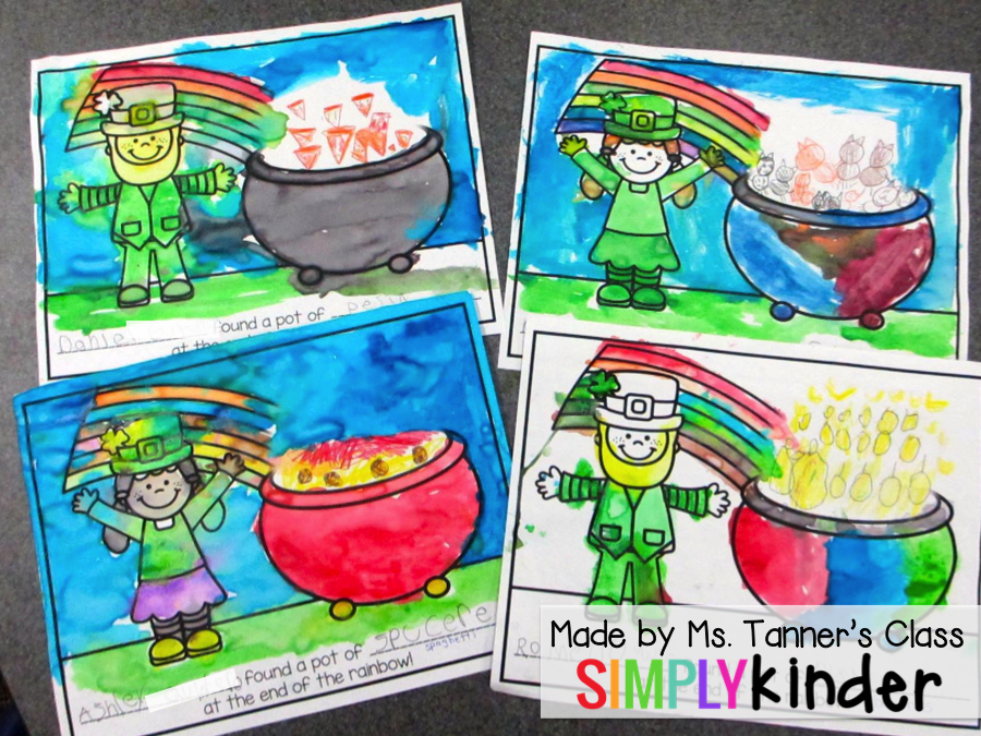 St. Patrick's Day Printable, Kindergarten Blog, Simply KInder
