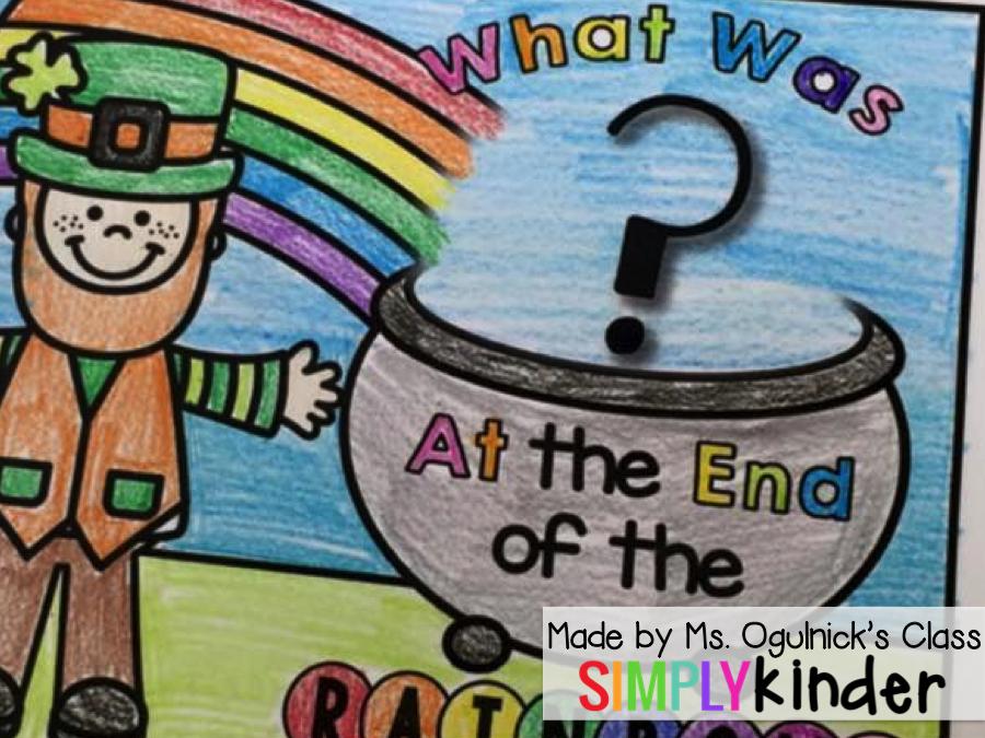 St. Patrick's Day Printable, Kindergarten Blog, Simply KInder