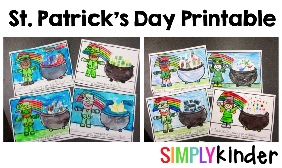 St. Patrick's Day Free Activity
