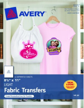 Use these shirt iron on transfers to create a great school keepsake!