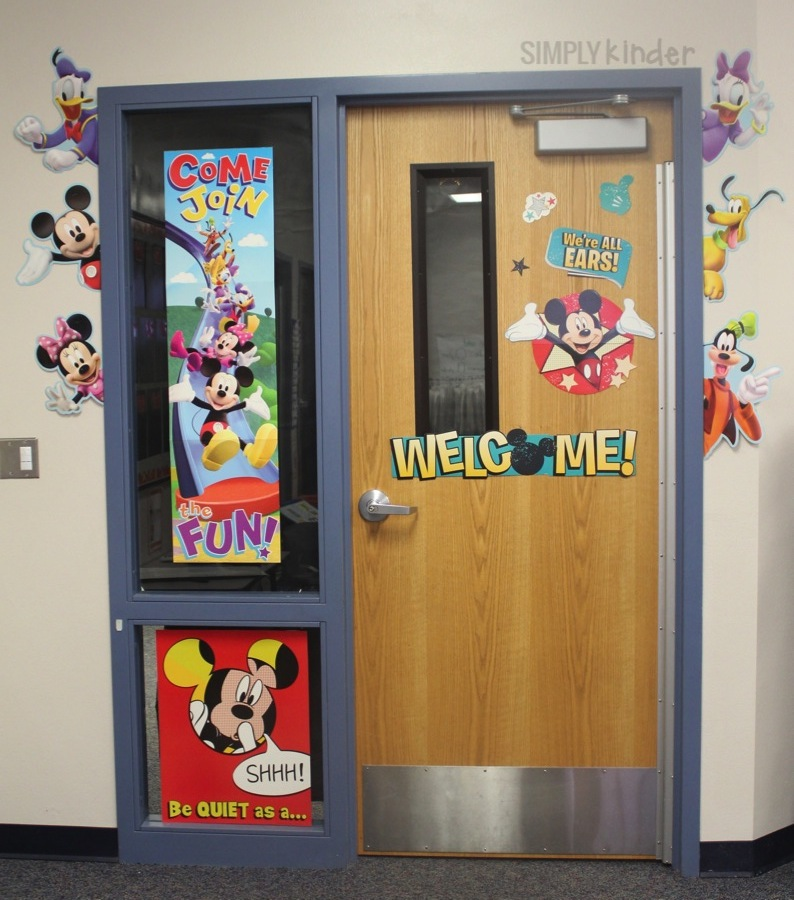 Mickey Classroom Decor ~ Disney classroom decor simply kinder