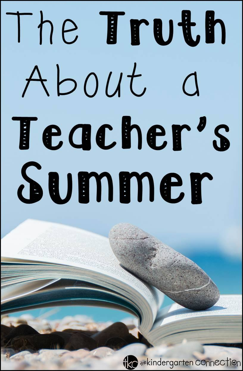 What really happens during a teacher's summer?