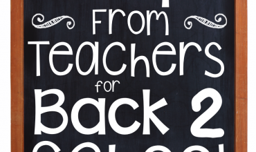 21 Tips from from Teachers for Back to School!  Hear what advice teachers just like you have!
