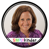 Simply Kinder - a great page to follow on Facebook for kindergarten teachers! Head over to see who the other 9 of my 10 favorite are!