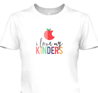 I Love My Kinders Shirt