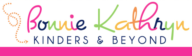 Bonnie Kathryn Kinders and Beyond! Great page to follow on Facebook for kindergarten teachers! Check out more!