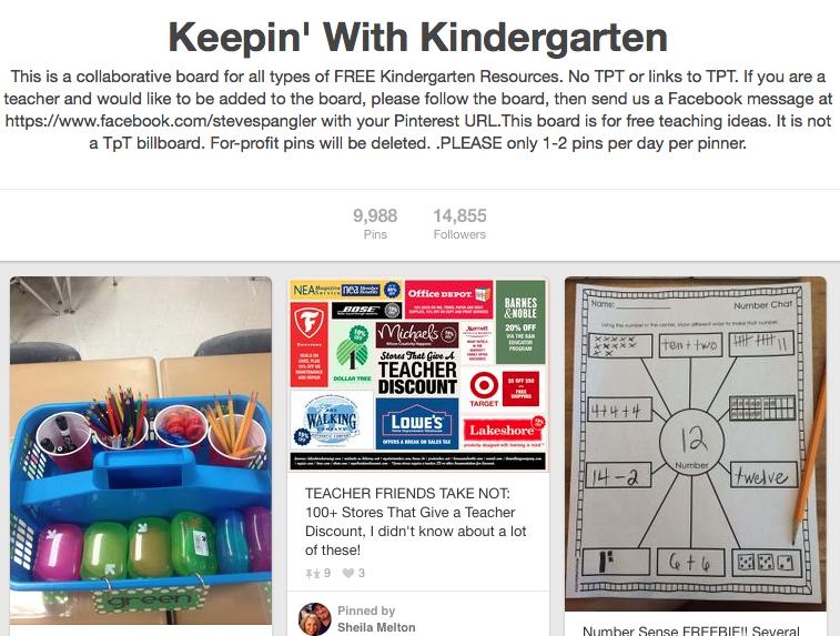 Kindergarten Teachers on Pinterest