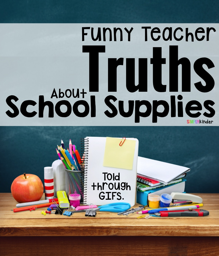 Modern Classroom Supplies ~ The truth about back to school supplies simply kinder
