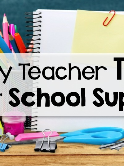 The Truth About Back To School Supplies