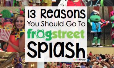 Frog Street Splash 2015!  A great early childhood conference for preschool, kindergarten, and first grade teachers.