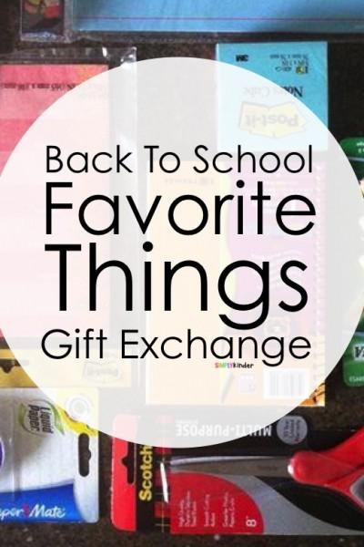 Back To School Favorite Things Teacher Exchange