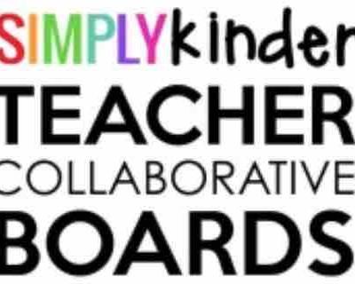 Simply Kinder Collaborative Teacher Boards
