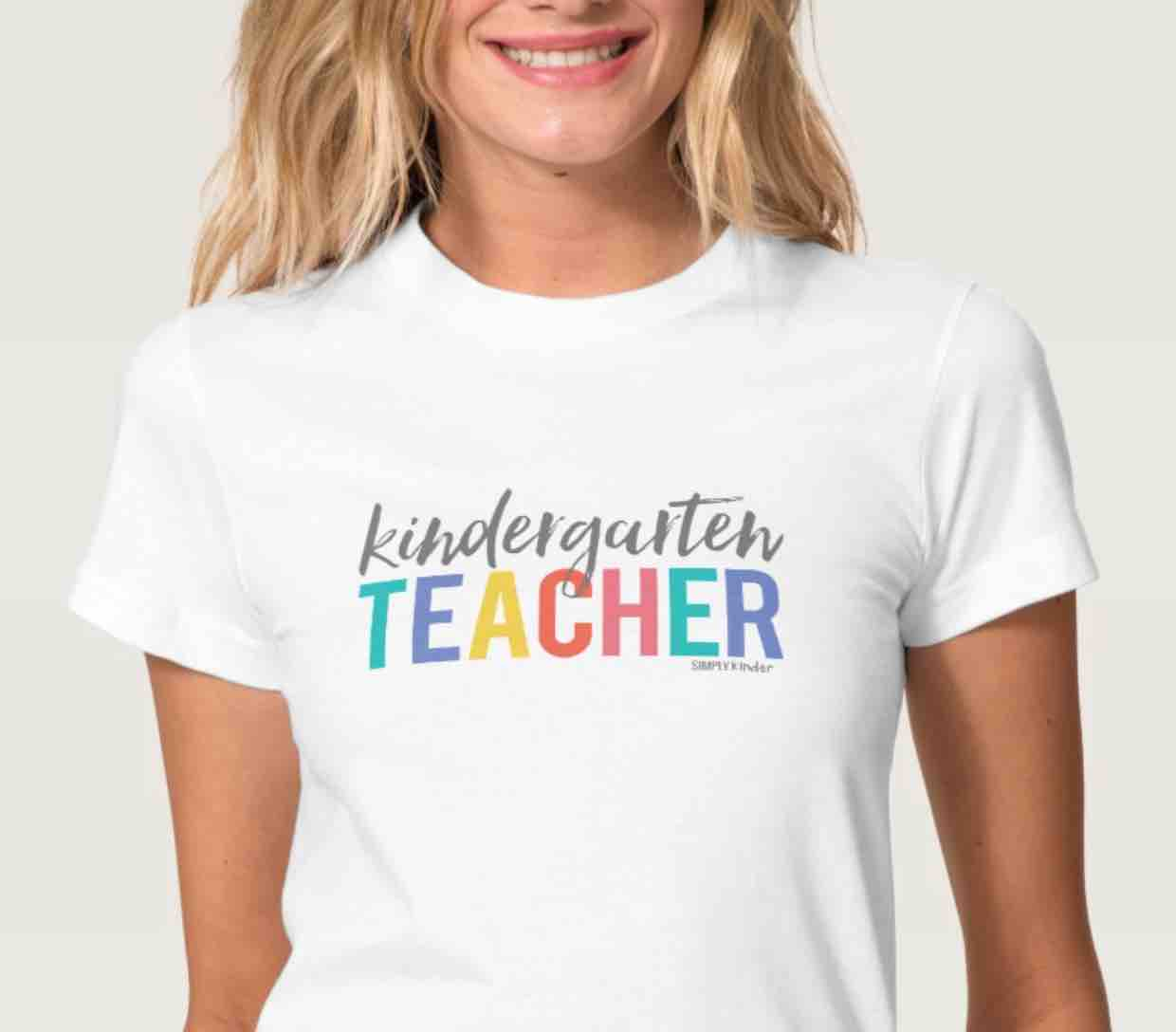 Kindergarten Teacher Kindergarten shirt from Simply Kinder
