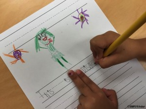 Inside Out writing activity.