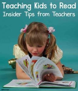 Insider teacher tips for teaching kids to read