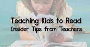 Tips to teach kids to read