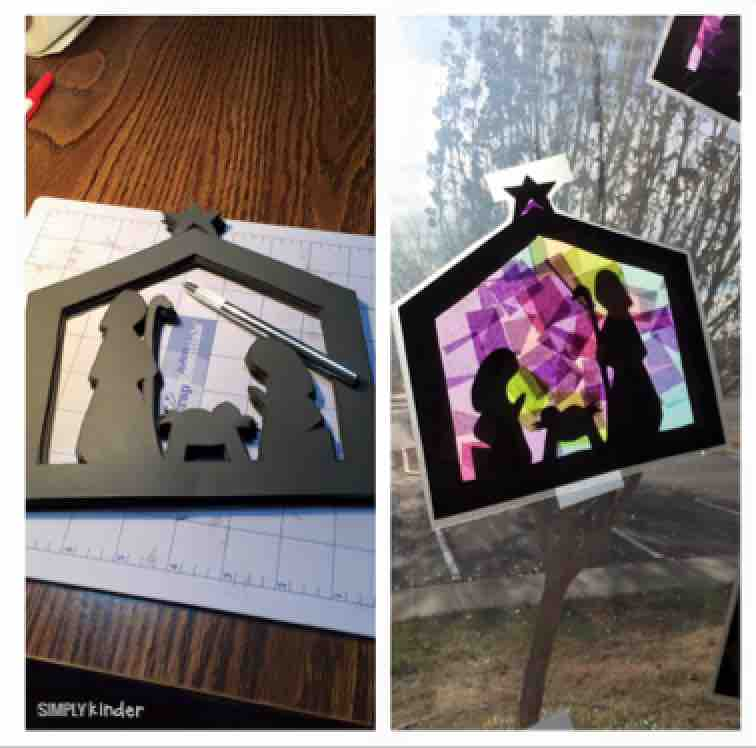 Nativity Scene Stained Glass Project