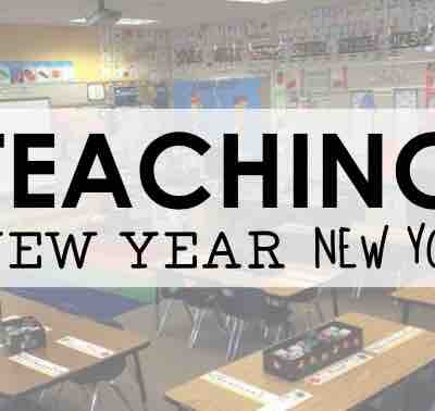 Teaching: New Year, New You